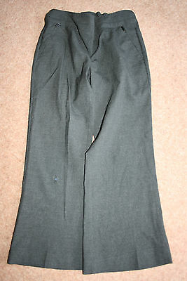 GIRLS GREY MARKS & SPENCER (M&S) SCHOOL TROUSERS SIZE 5 years IN GOOD CONDITION