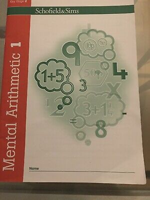 Schofield & Sims Key Stage 2 Mental Arithmetic 1 Workbook Preowned but Not Used