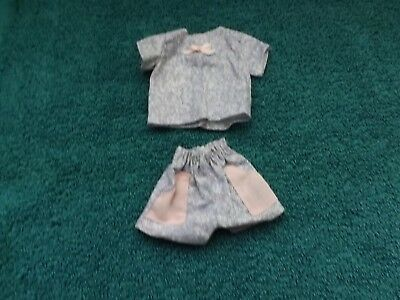 1990 Mattel's 2 piece Casual Fashion, Pink & Lavender Top & Shorts  for Barbie