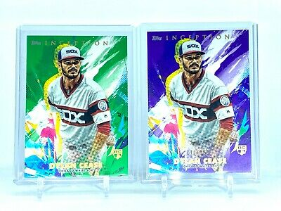2020 Topps Inception GREEN & PURPLE Parallel RC Auto Dylan Cease  White Sox /150