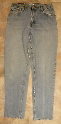 VTG Levis 550 Womens Relaxed Fit Taper Leg Jeans sz 10 L Red Tab mom jeans 29x31