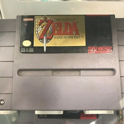 Legend of Zelda: A Link to the Past - SNES SUPER NINTENDO - AUTHENTIC - TESTED