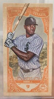 2020 Topps Gypsy Queen Luis Robert RC Fortune Teller Chicago White Sox Rookie