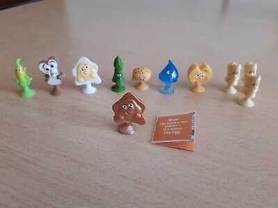 Coles Stikeez Fresh Friends Series 2 Rare Ella Egg and others