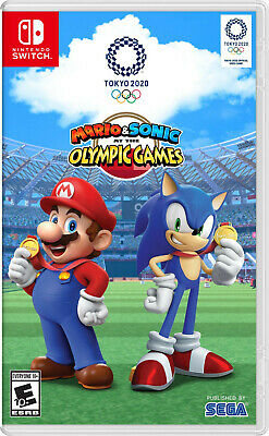 Mario & Sonic at the Olympic Games Tokyo 2020 Nintendo Switch [Sports] NEW
