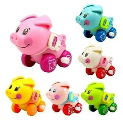 Clockwork funny toy cartoon pig clockwork car educational toys gift, RU