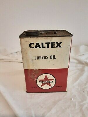 Caltex 1 Gallon Tin