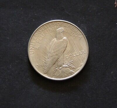 1922 Peace Dollar  Silver Coin Very Little wear Free Registered Post.