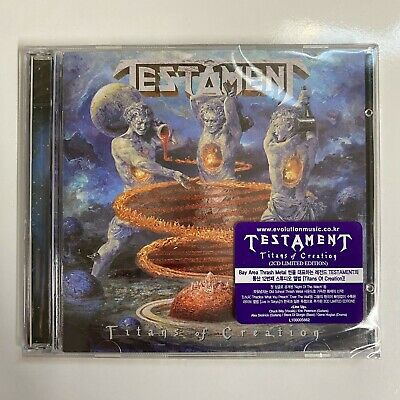 Testament - Titans Of Creation (2CD Limited Edition) CD Korea Import NEW SEALED