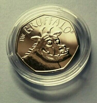 2019 Royal Mint The Gruffalo Fifty Pence 50p Coin Brilliant Uncirculated BUNC BU