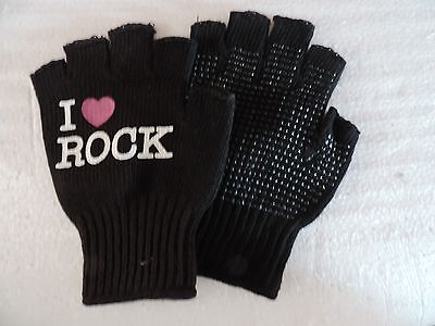 Fingerless Gloves With Print And Grip New Was $20