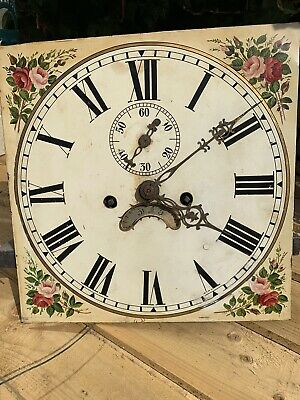 Longcase Clock Movement, 8 Day, Working, No Reserve
