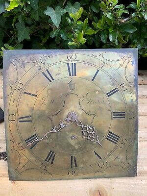 Longcase Clock Movement, Brass Face, 30 Hours , Working, No Reserve, Stroud