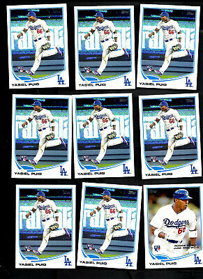 29 Card Lot 2013 Topps Update #US250 US330 Yasiel Puig RC All Scanned