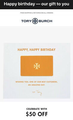 Tory Burch $50 Off $100 Purchase Promo Code Exp 4/30