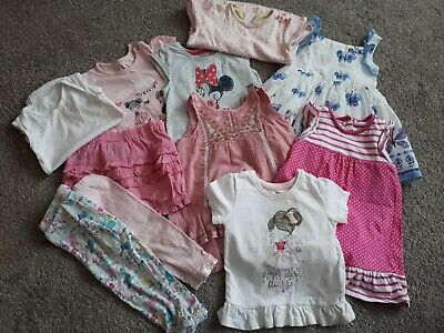 Baby Girl (9-12 Months) Clothing Bundle 11 items