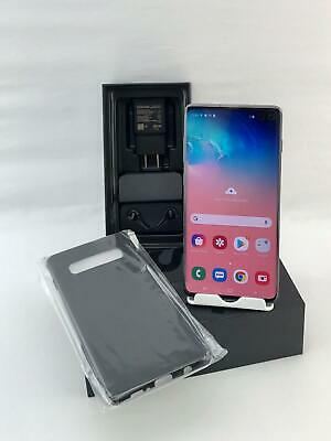 Samsung Galaxy S10 Plus SM-G975U 128GB Black! Can work with Verizon+GSM Carriers