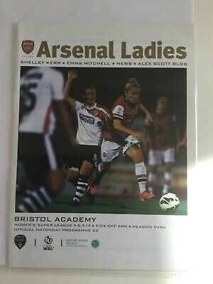 2013/14 Arsenal Ladies v Bristol Academy. Women's Super League. 8th Sep 2013