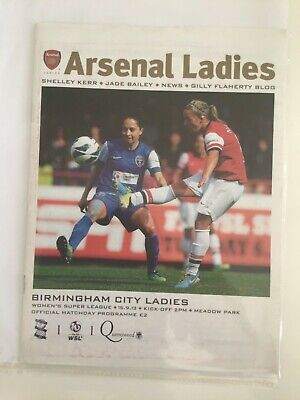 2013/14 Arsenal Ladies v Birmingham City.  Women's Super League. 15th Sep 2013