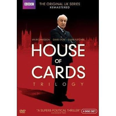 House of Cards Trilogy (DVD,2013,4-Discs) Region 1