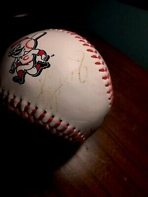 Reds Ken Griffey Jr And 2 Others Autographed Baseball