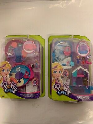 Polly Pocket World Compact Assortment Bundle (FRY37 & 38) BRAND NEW IN BOX