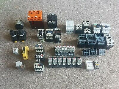 Joblot Of Contactors, Relays And Switch Motors