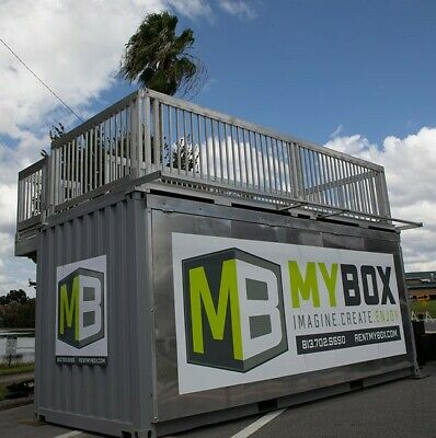 20FT Shipping container home DECK, Container Office DECK, Container Space DECK