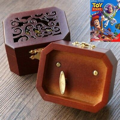 COLLECTIBLE  OCTAGON CARVING MUSIC BOX  ♫  Toy Story  ♫