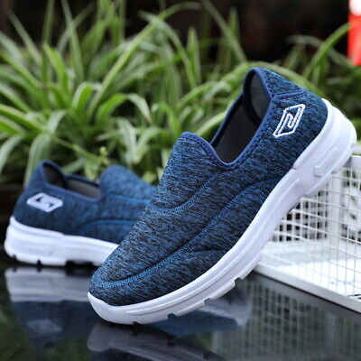 Women Walking Athletic Shoes Casual Daily Sneakers Slip-On Breathable Comfort