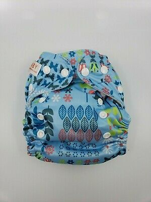 Sun baby pocket reusable cloth diaper with snap closure