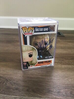 Funko POP Doctor Who - Retired/Vaulted Exc - SIGNED BY BILLIE PIPER #295