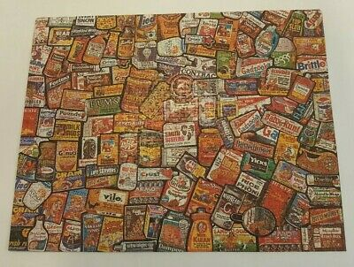 1973 Vintage Wacky Packages Original 800 Piece Jigsaw Puzzle Very Rare W/Box
