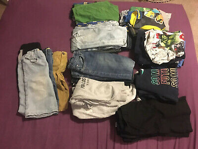 boys clothes 8-9 years bundle. 24 Items Jumpers, Jeans, Tops. Mainly From H & M