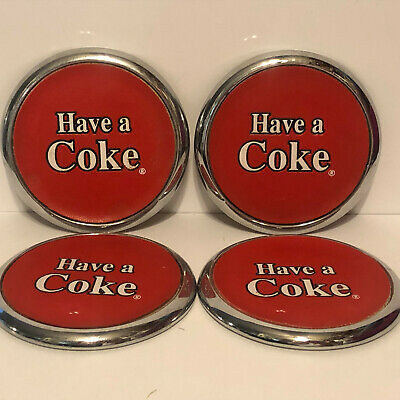 Vintage Coca Cola Have a Coke Coasters Set of 4 1999