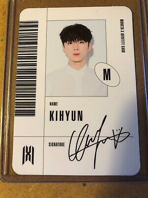 Monsta X Follow Find You Official ID Photocard Kihyun - US Seller