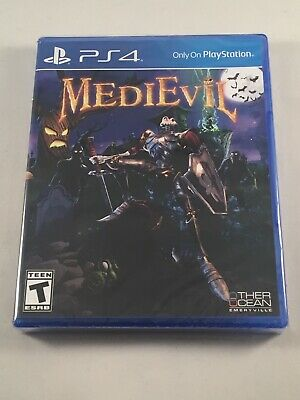 MediEvil Sony PlayStation 4 (PS4, 2019) Brand New Sealed Fast Free Shipping