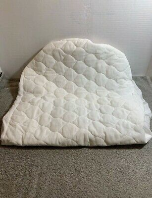 American Baby Waterproof Quilted Cotton Bassinet Fitted Mattress Pad