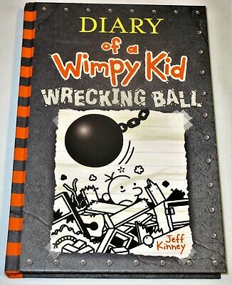 DIARY OF A WIMPY KID - Wrecking Ball HARDCOVER Book 14 Children's Humor 2019 NEW