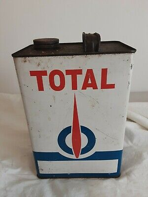 Total 1 Gallon Oil Tin