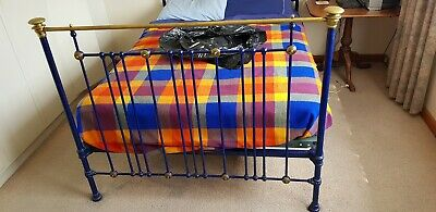 Brass Double Bed Antique