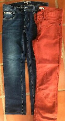 Two Pairs NEW skinny Jeans Boys Size 12