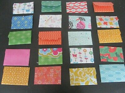 Die Cuts  Mini Envelopes  12  Patterned  Paper  Variety May Vary From Photo