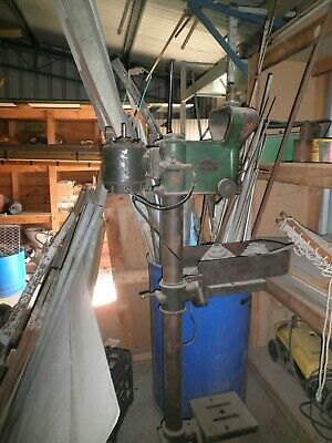 Vintage drill press J S Richardson