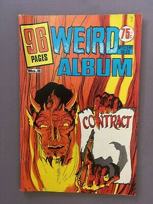 Vintage WEIRD ALBUM Mystery Tales No.8 COMIC, Kenmure, DC - Horror