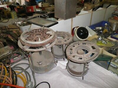 3 Vintage camping stoves