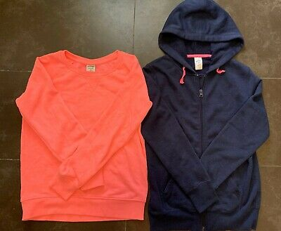 2 X Girls Jumper Hoodie Size 12 Combined postage available see more items