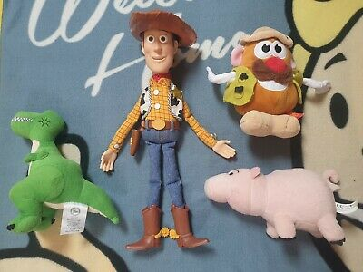 Toy Story : Woody - Rex - Ham & Mr Potato Head - Bundle