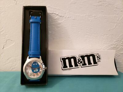 AVON M&M's Character Watch NIB - Blue
