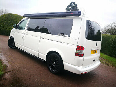Vw Transporter T5 Lwb Air-Con Camper Day Van Custom U Shape Lounge Kombi Design